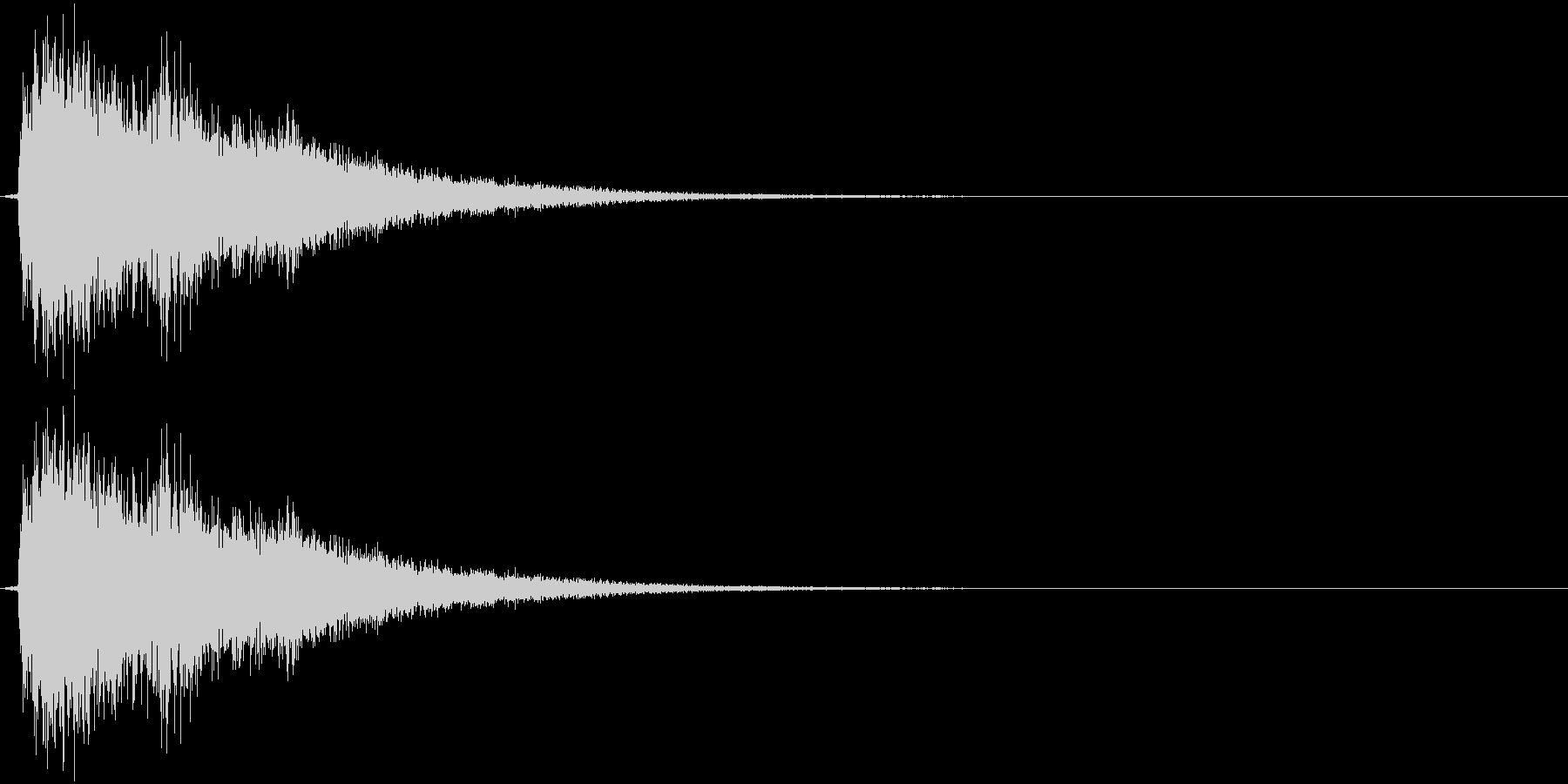 ティーン(ゲーム、決定)の未再生の波形