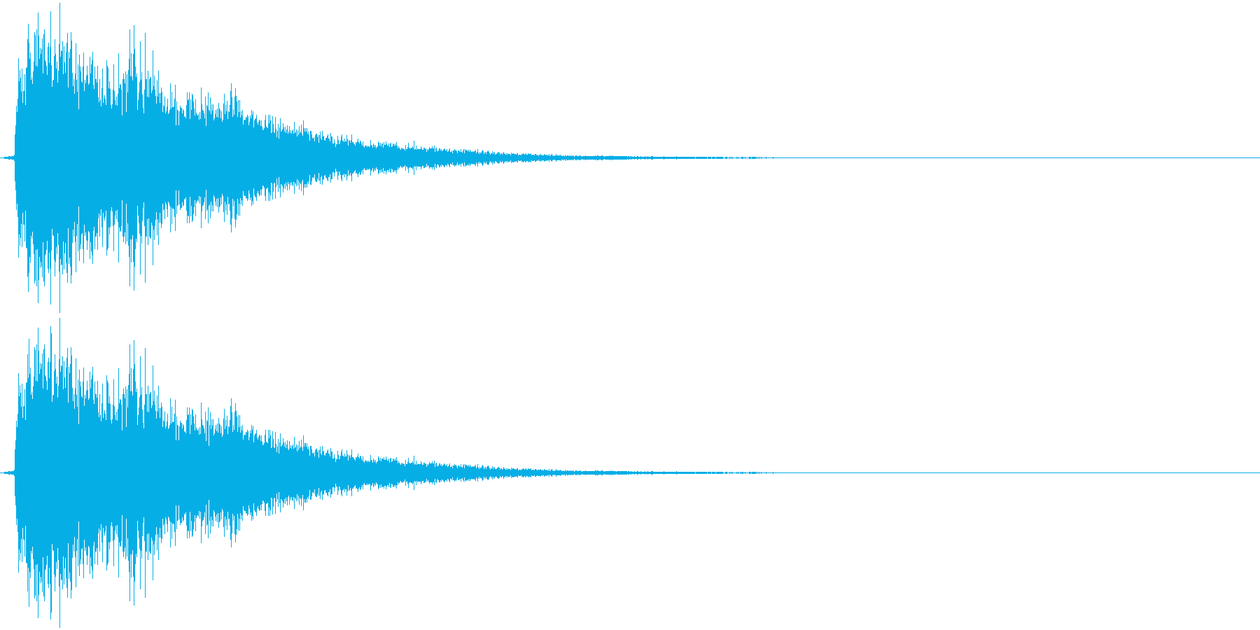 ティーン(ゲーム、決定)の再生済みの波形