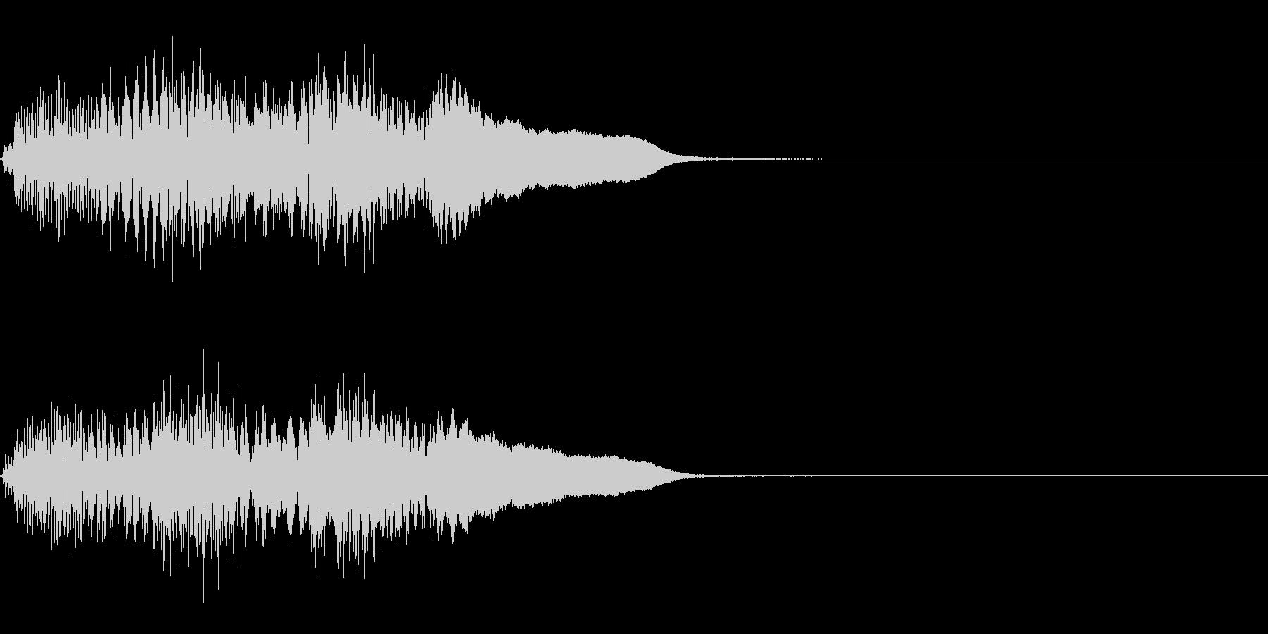 FX・SE/ピアノ/高音へ/ちゃらららんの未再生の波形