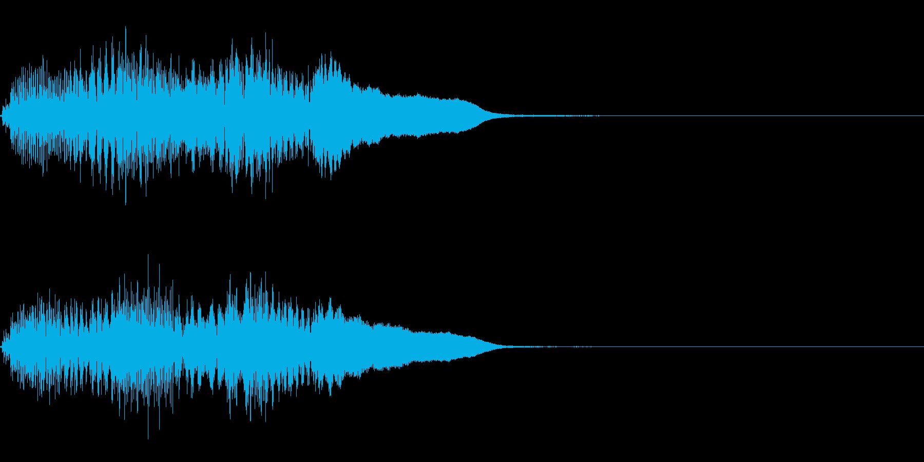 FX・SE/ピアノ/高音へ/ちゃらららんの再生済みの波形