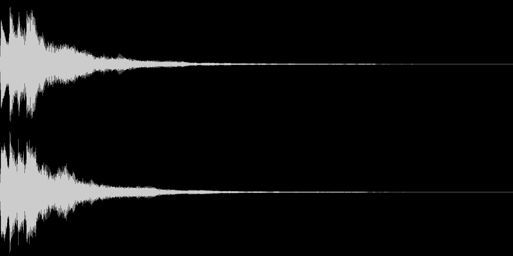 キラキラ キランなアタック音5-3の未再生の波形
