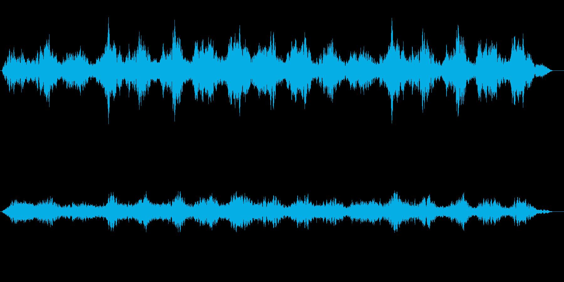 ヒマラヤの崖を彷徨ってるような音風景の再生済みの波形