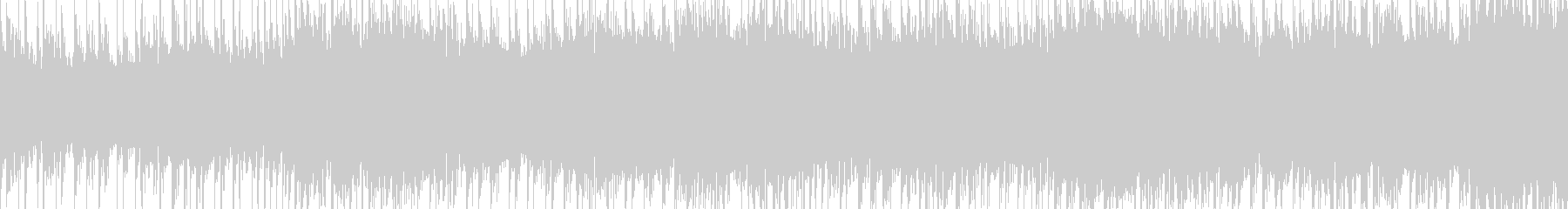 和風のループ曲の未再生の波形