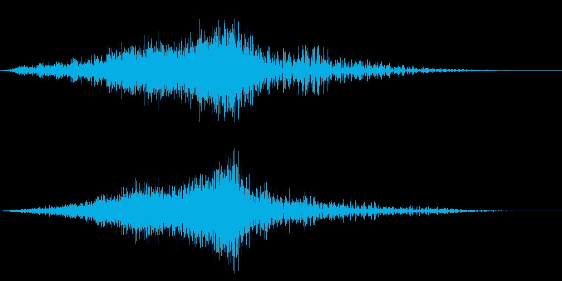 ホラーサスペンスに最適な恐怖や驚愕のSEの再生済みの波形