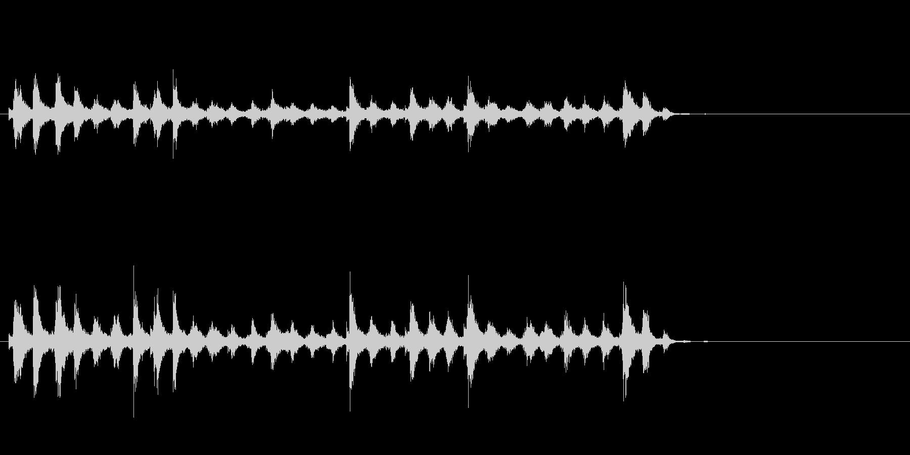 音侍「チャッパ」和製シンバルのフレーズ4の未再生の波形