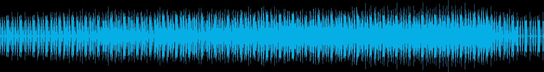爽快な近未来SFハウスサウンドの再生済みの波形