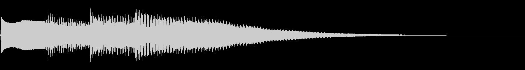 キラキラーんの未再生の波形