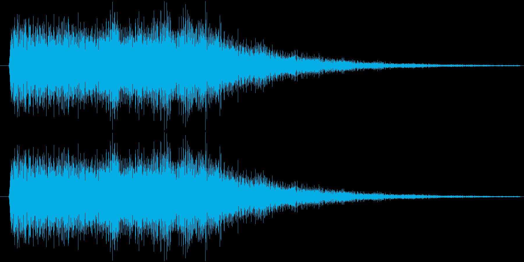 サウンドロゴ15の再生済みの波形
