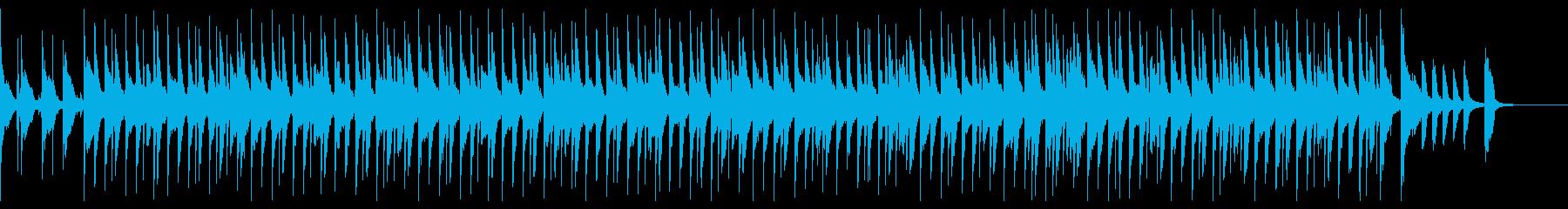 かわいくて、跳ねるようなリズムのポップスの再生済みの波形