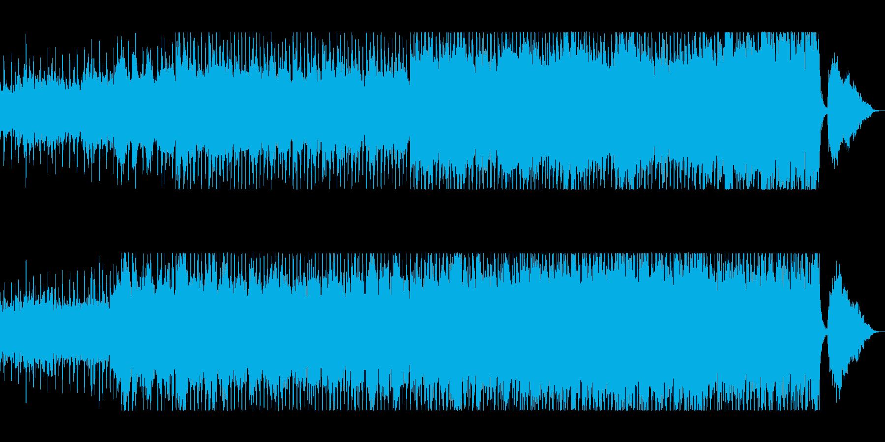 爽やかで美しいピアノシンセサウンドの再生済みの波形