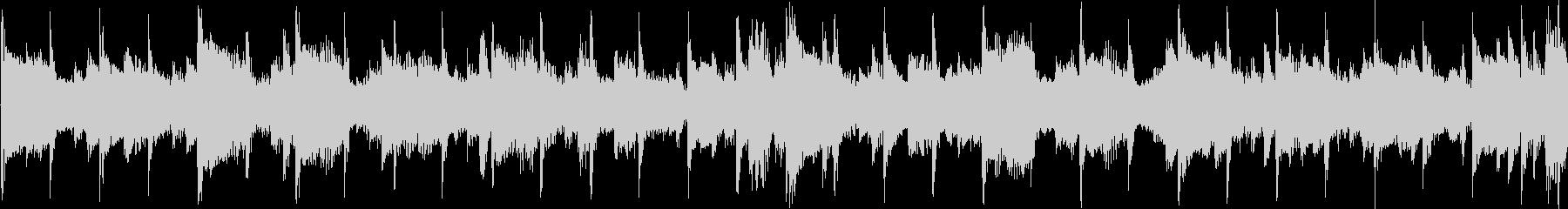 アジア風のメロディのジングル_ループの未再生の波形
