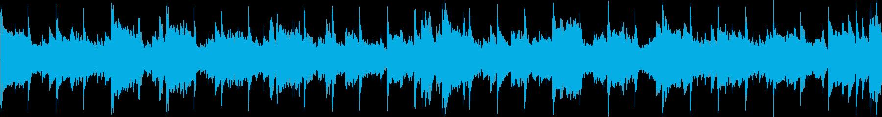 アジア風のメロディのジングル_ループの再生済みの波形