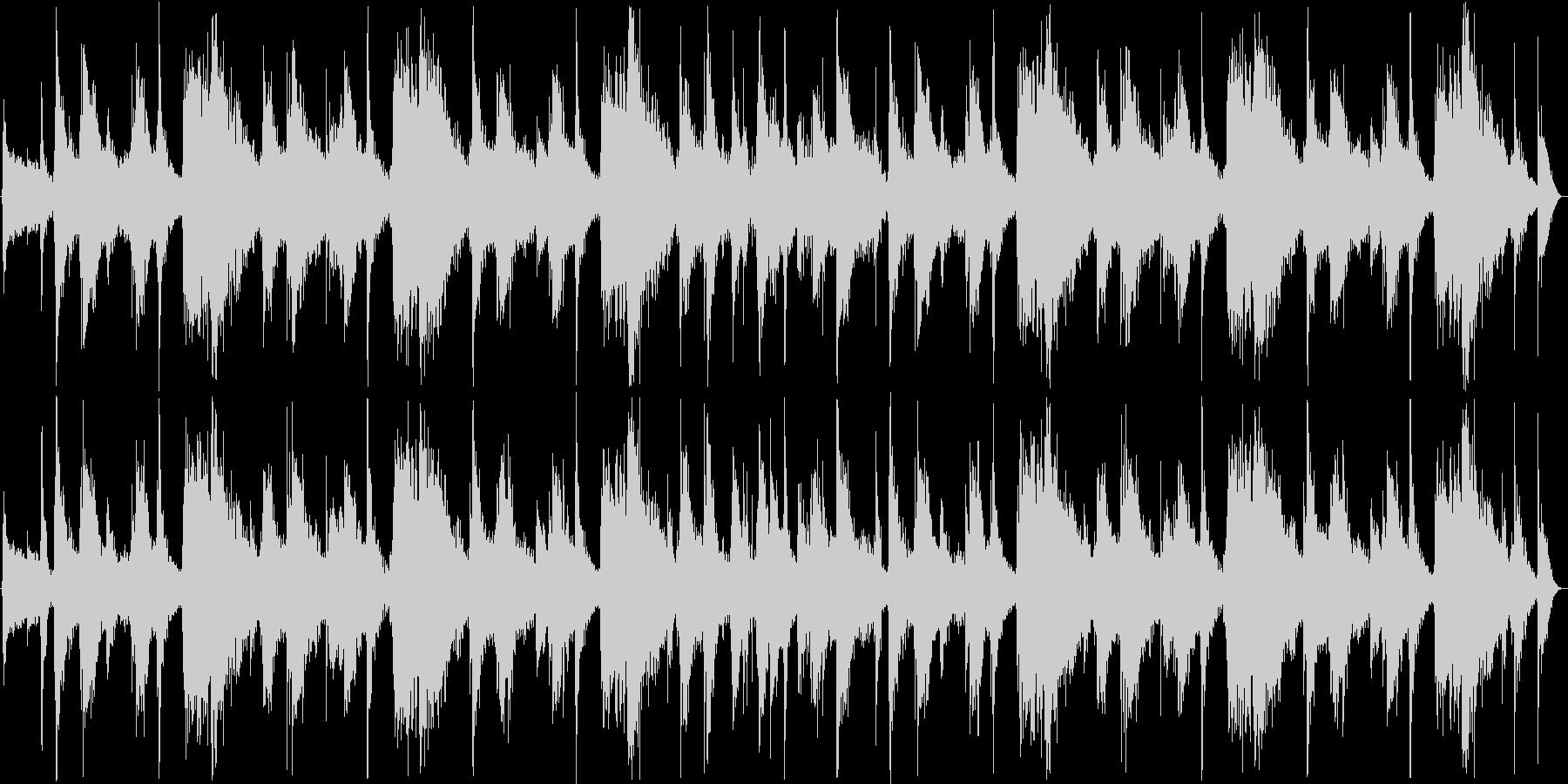 中近東民族楽器BGMの未再生の波形