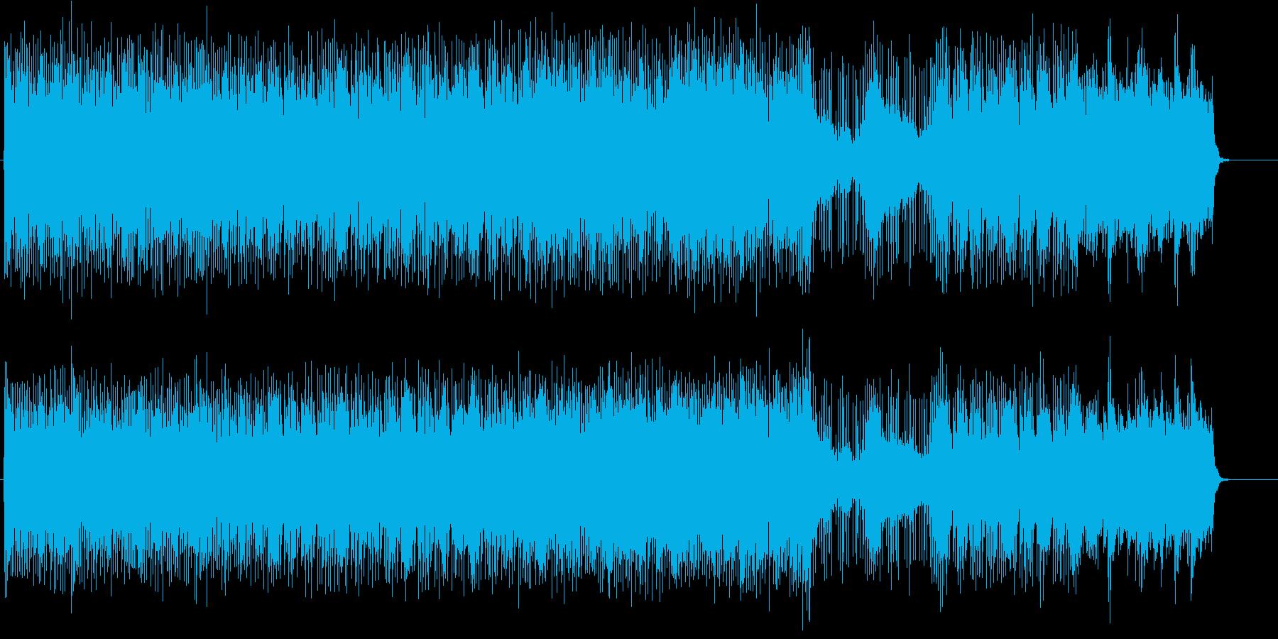 頭サビメロがキャッチーなテーマのロックの再生済みの波形
