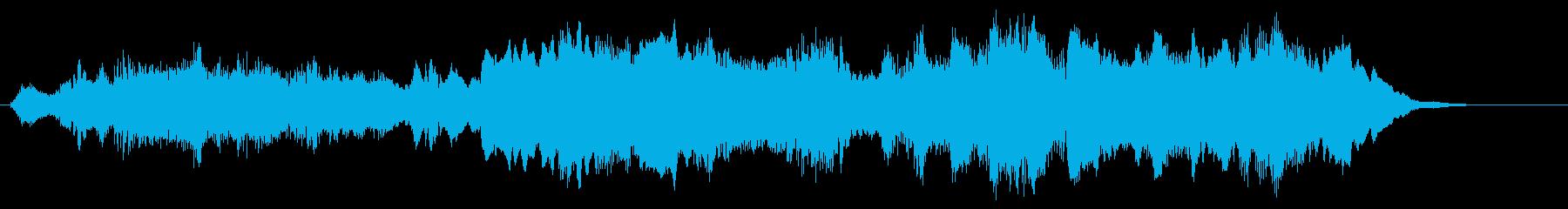 クラシカルで落ち着いた西洋風ジングルの再生済みの波形