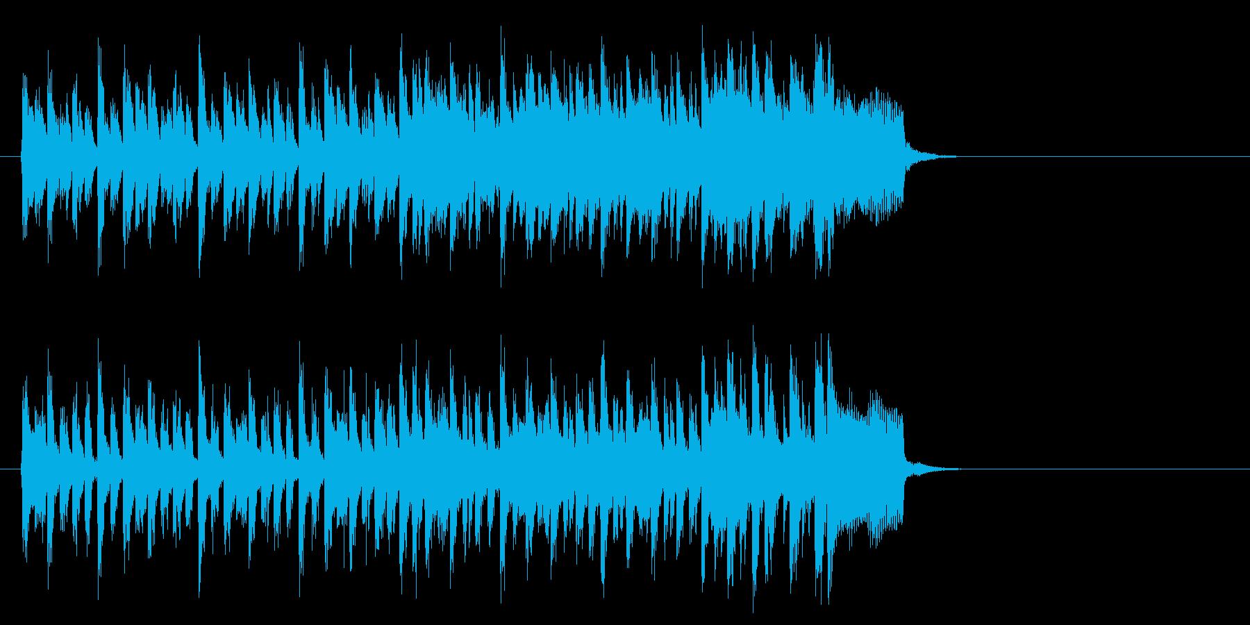 力強い歌謡曲風ポップス(イントロ)の再生済みの波形