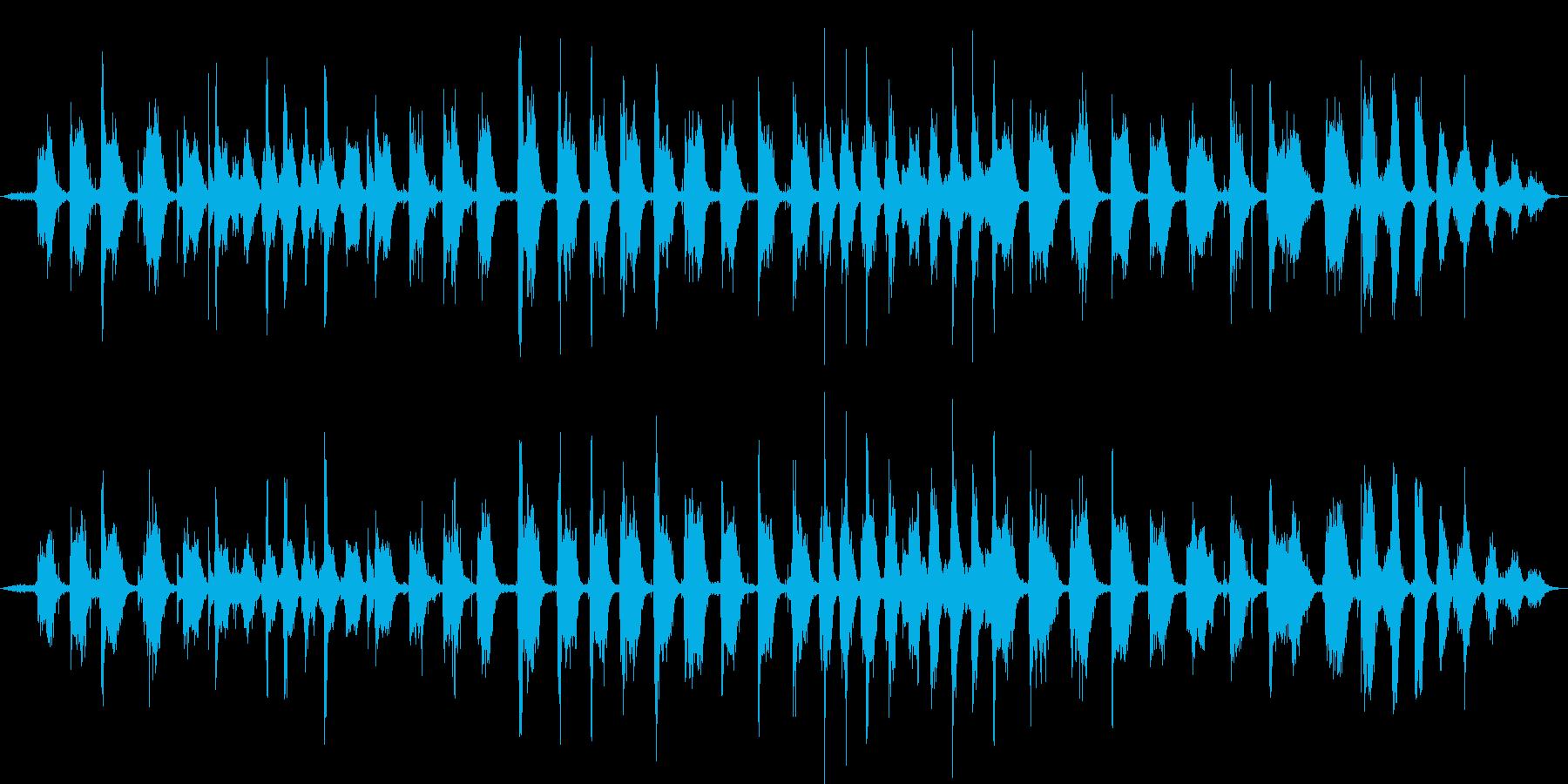【生活音】ほうきの再生済みの波形
