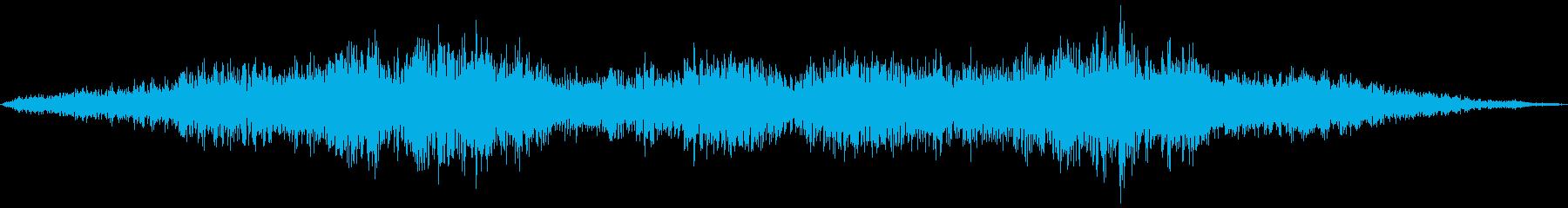 黄色い悲鳴(女性のキャーキャー声)の再生済みの波形