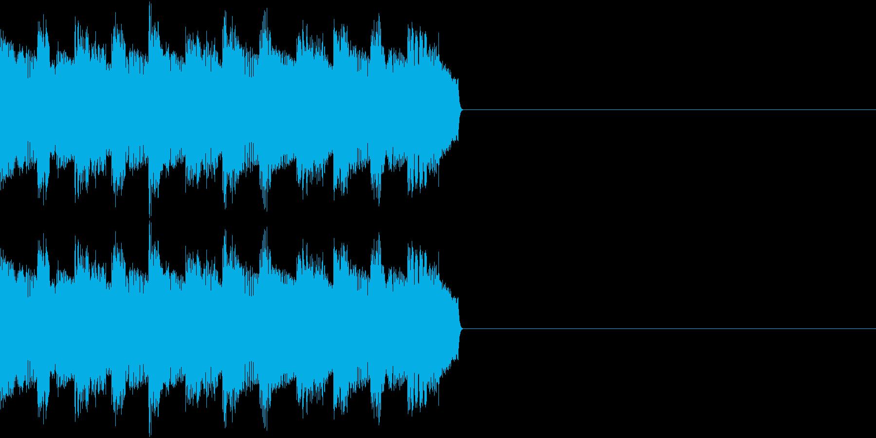 サイレン アラーム ファミコン 告知の再生済みの波形