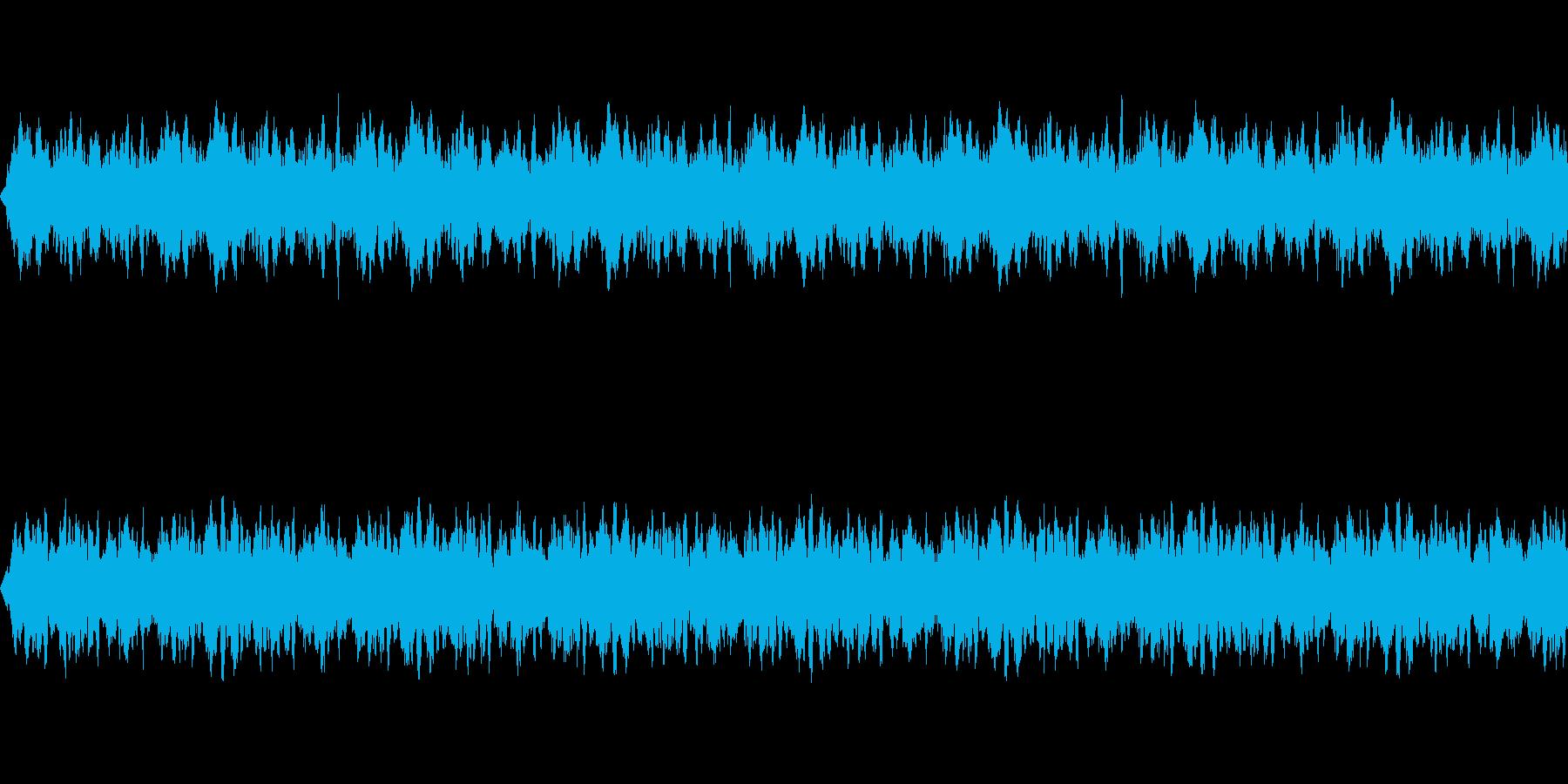 【不穏/怖い/BGM】の再生済みの波形
