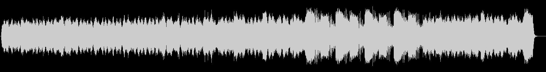 知的なサイエンスティックミュージックの未再生の波形