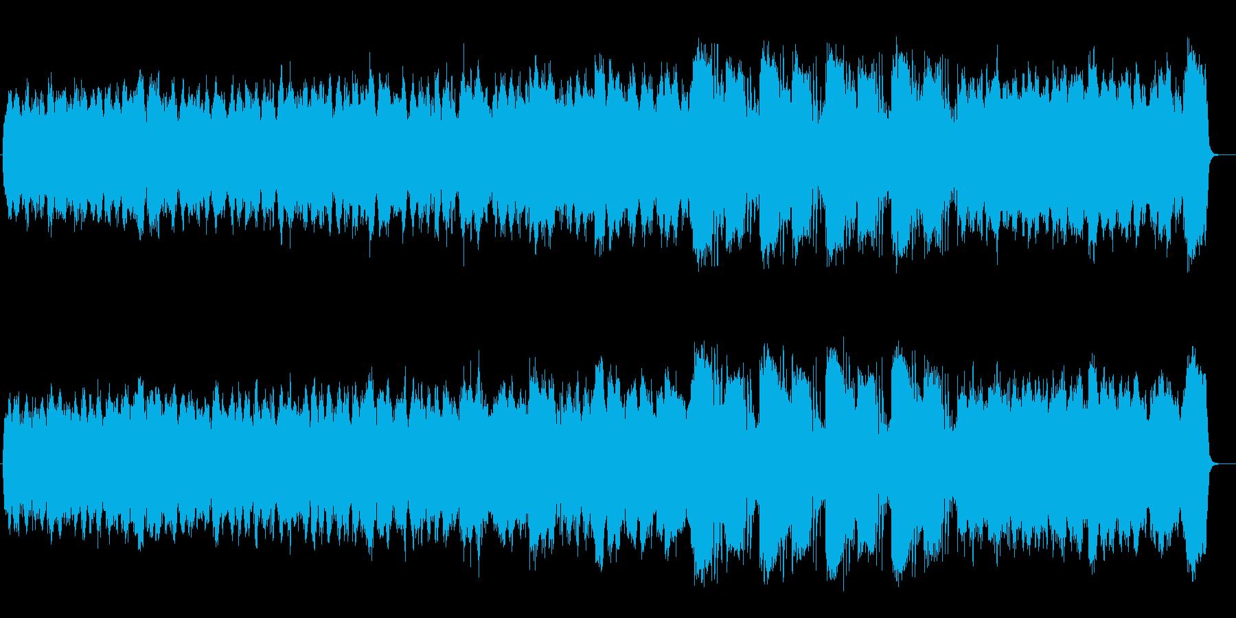 知的なサイエンスティックミュージックの再生済みの波形