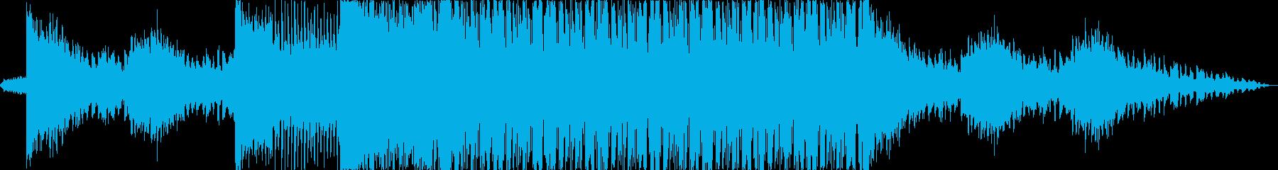 映像やCM向けのCyberDubstepの再生済みの波形