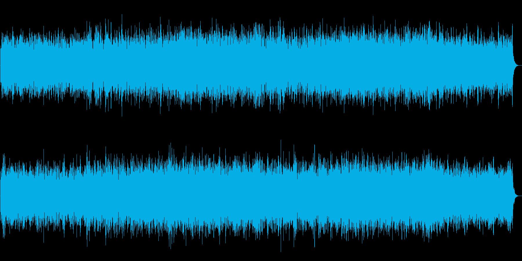 深海をイメージしたアンビエントの再生済みの波形