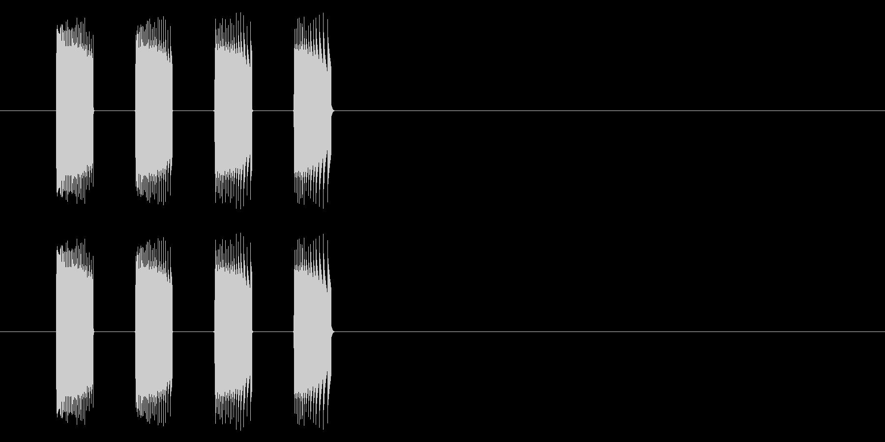 【NES 格闘01-4(倒れる)】の未再生の波形
