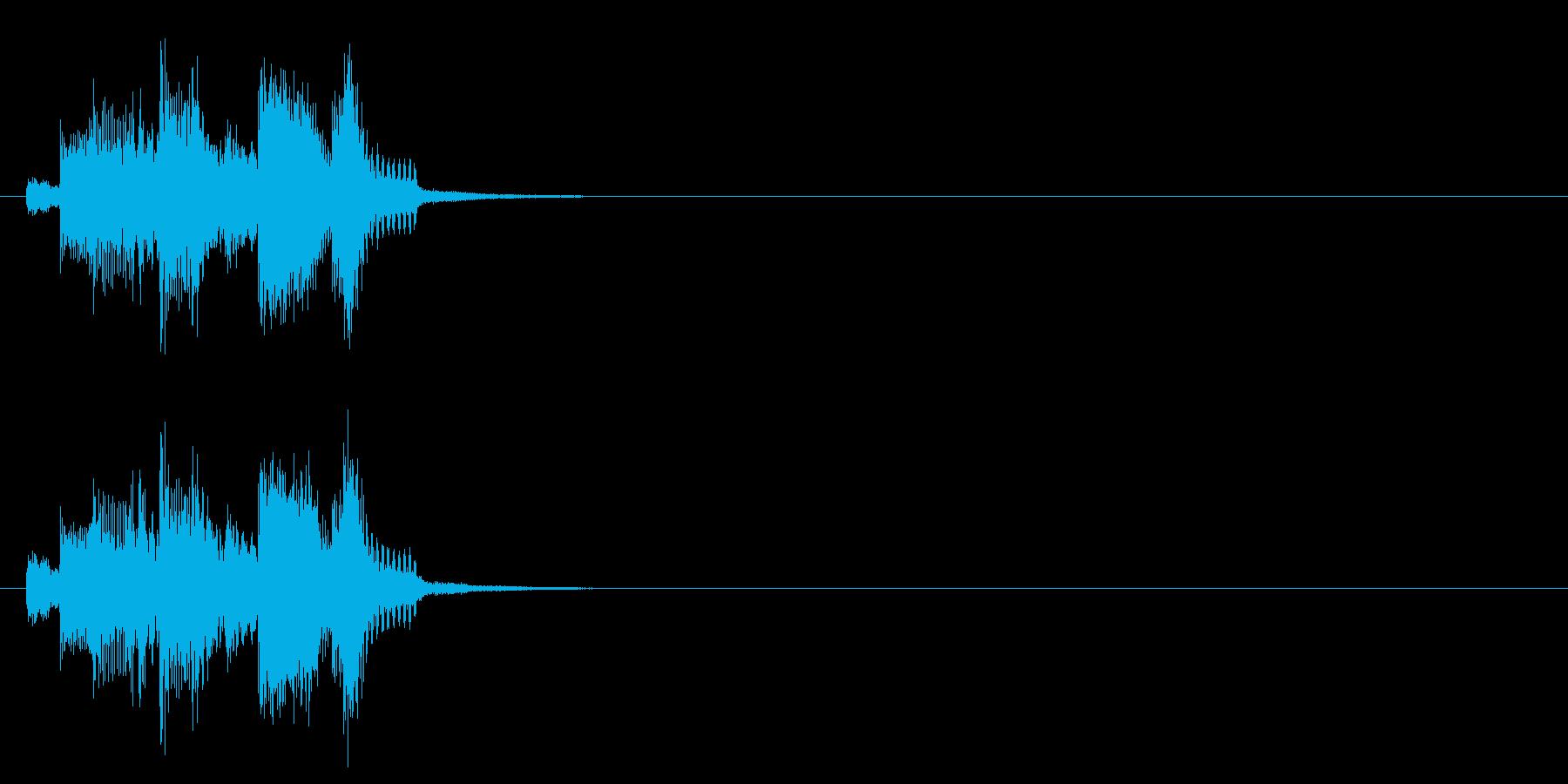 ニュース アタック 場面転換 報道 企業の再生済みの波形