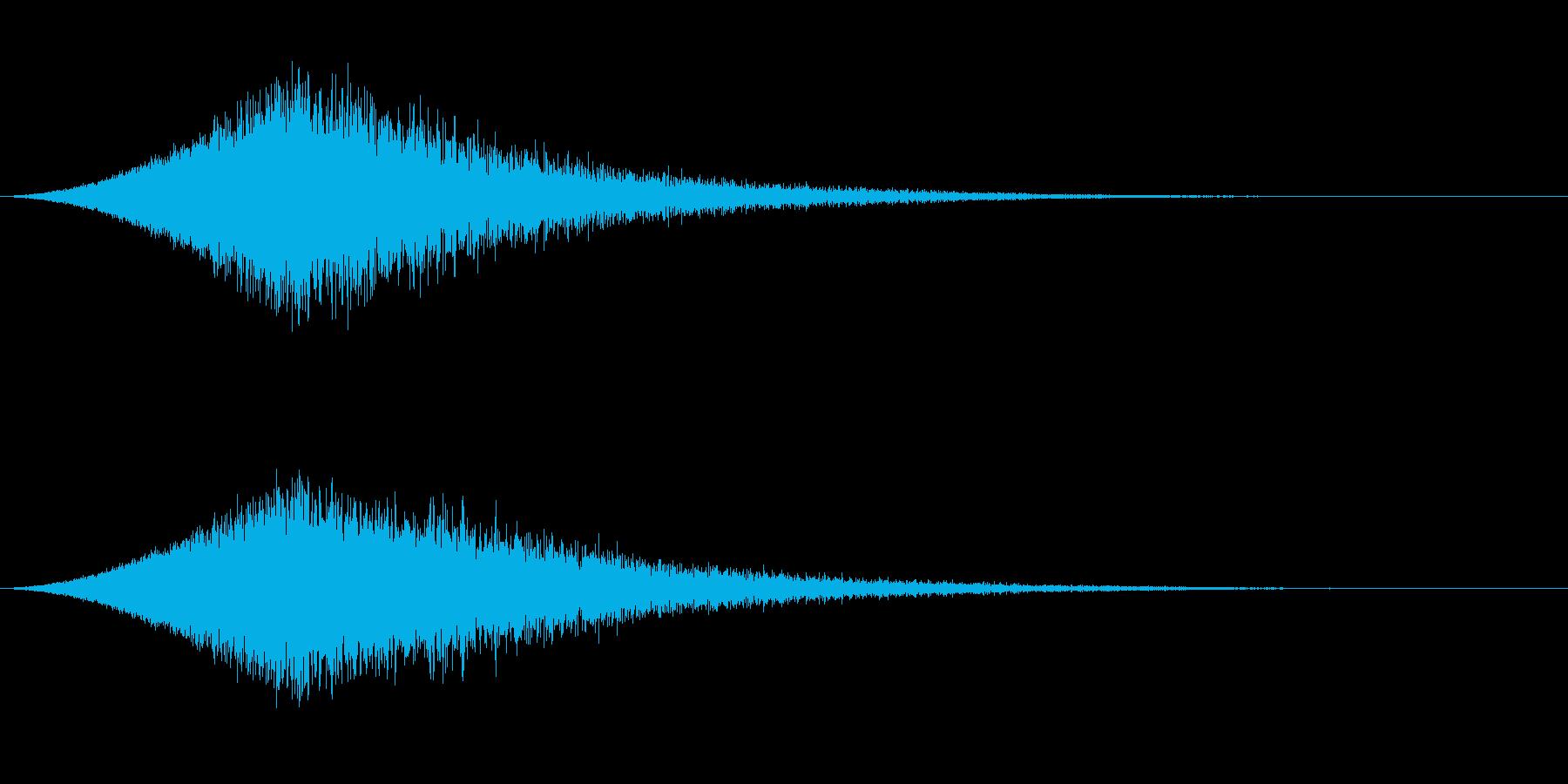 敵が消滅する音 シュワーンの再生済みの波形
