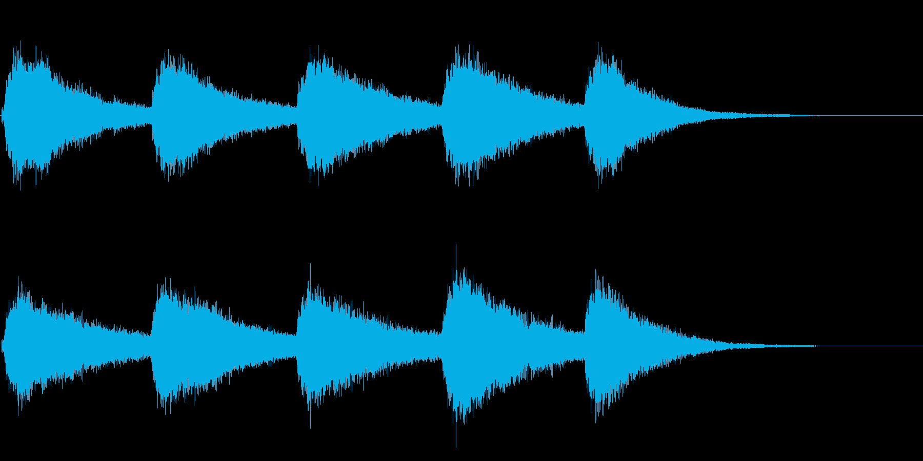 結婚式や教会の鐘の音として最適です!04の再生済みの波形