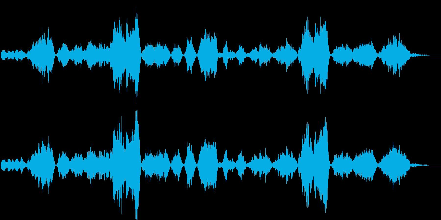 「庭の千草」の小編成の管弦楽アレンジの再生済みの波形