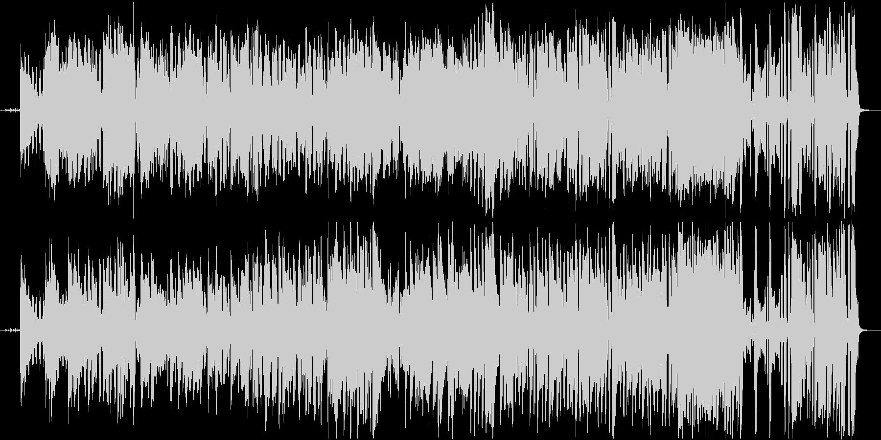 情熱のアコーディオンとギターのフラメンコの未再生の波形