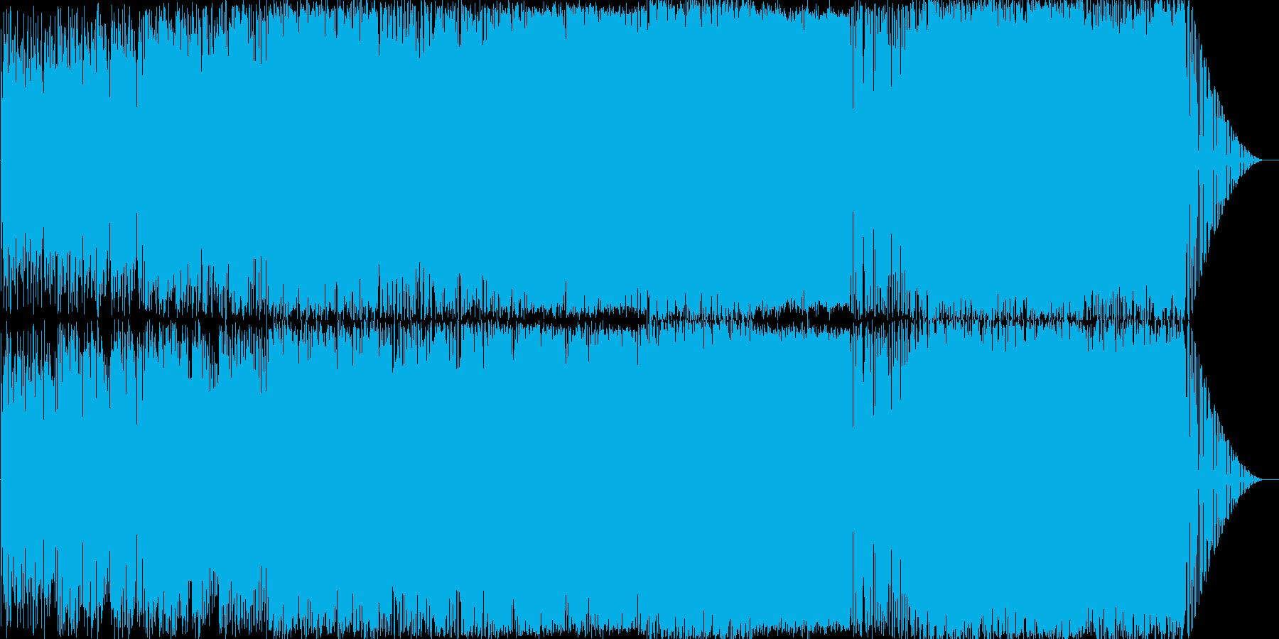 オシャレで大人なバラードの再生済みの波形