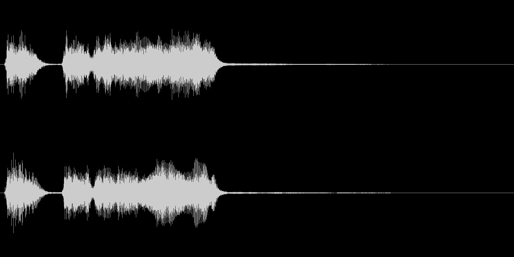 玩具系ファンファーレ-05の未再生の波形