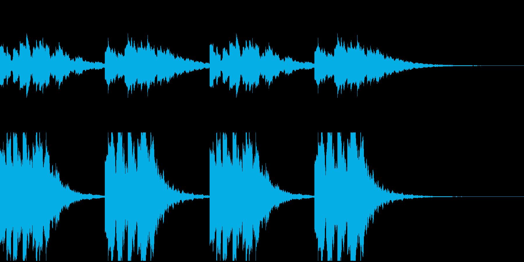 サウンドロゴ、ジングル、企業PVなどの再生済みの波形