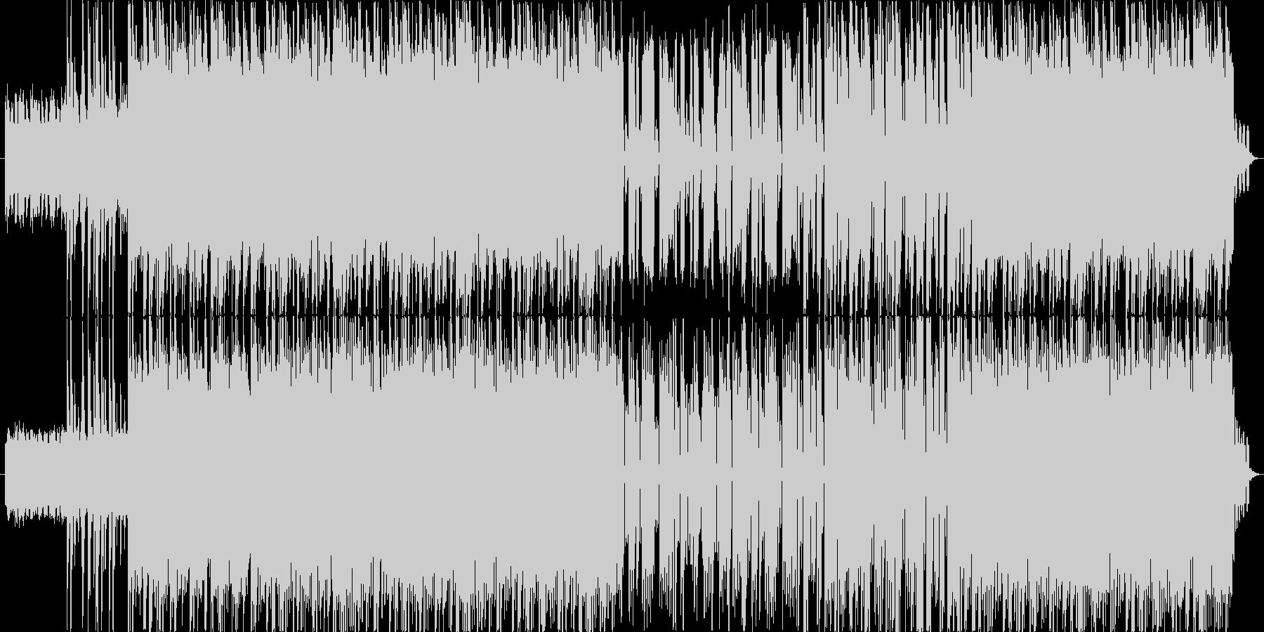 シンセサイザー音色をメインにした、ダイ…の未再生の波形