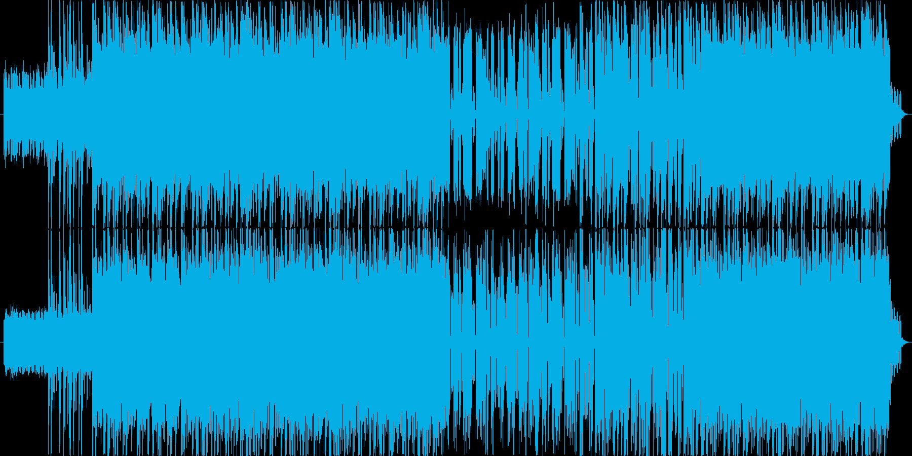 シンセサイザー音色をメインにした、ダイ…の再生済みの波形