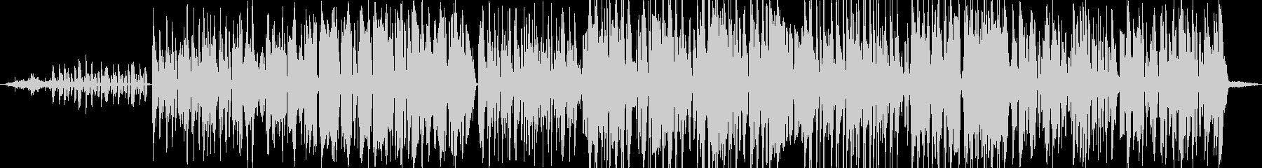 ファンキーなポップス アコースティックの未再生の波形
