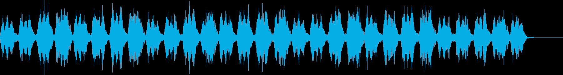 疾走感あるストリングス 馬の再生済みの波形