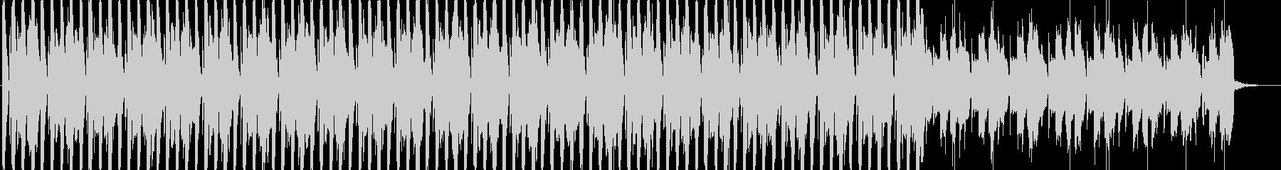 CM等のBGMに適した軽快なサウンドの未再生の波形