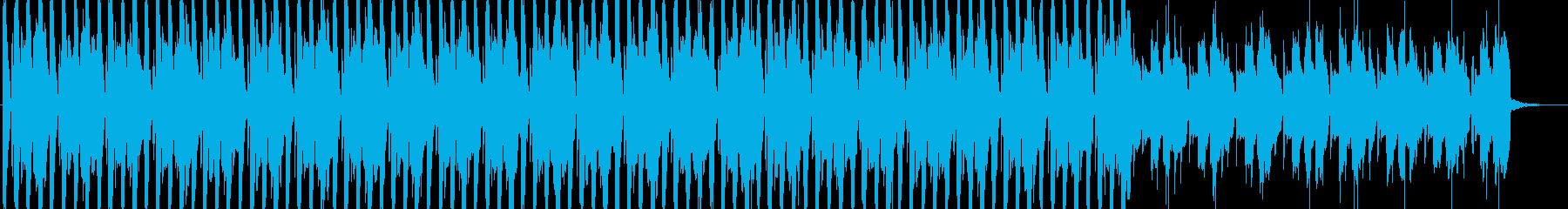 CM等のBGMに適した軽快なサウンドの再生済みの波形