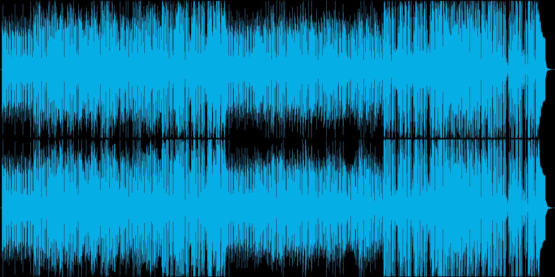 ドタバタ日常のはじまり_ドラマの再生済みの波形