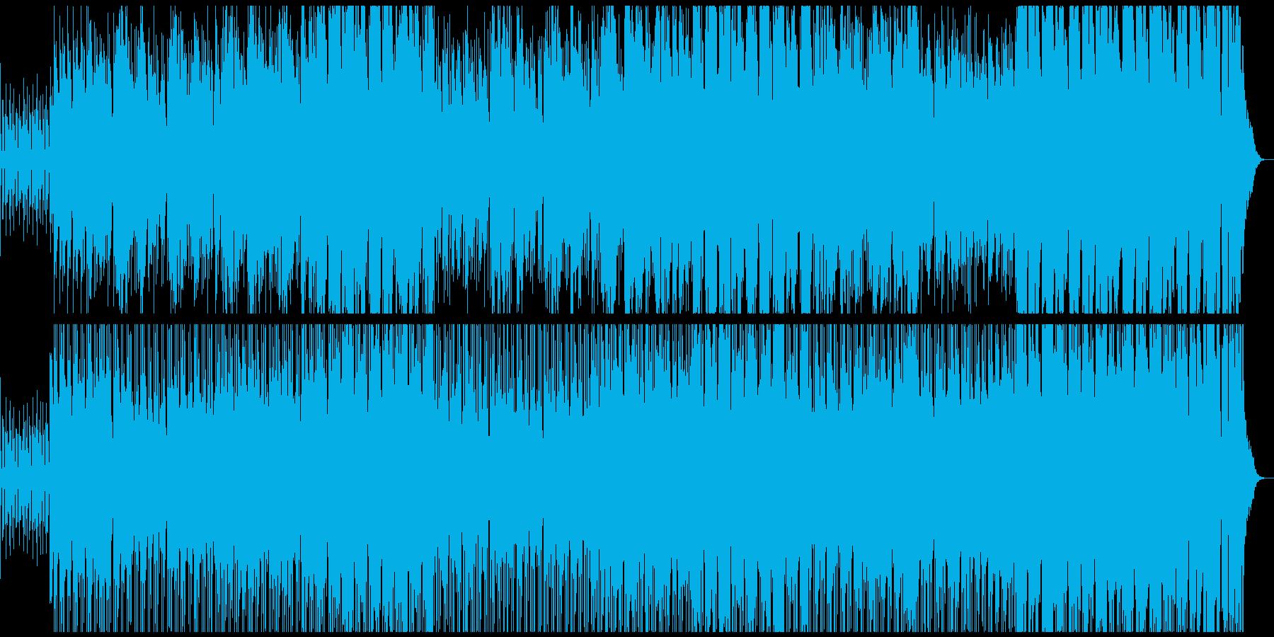 シタール,サックスが印象的な恋の応援歌の再生済みの波形