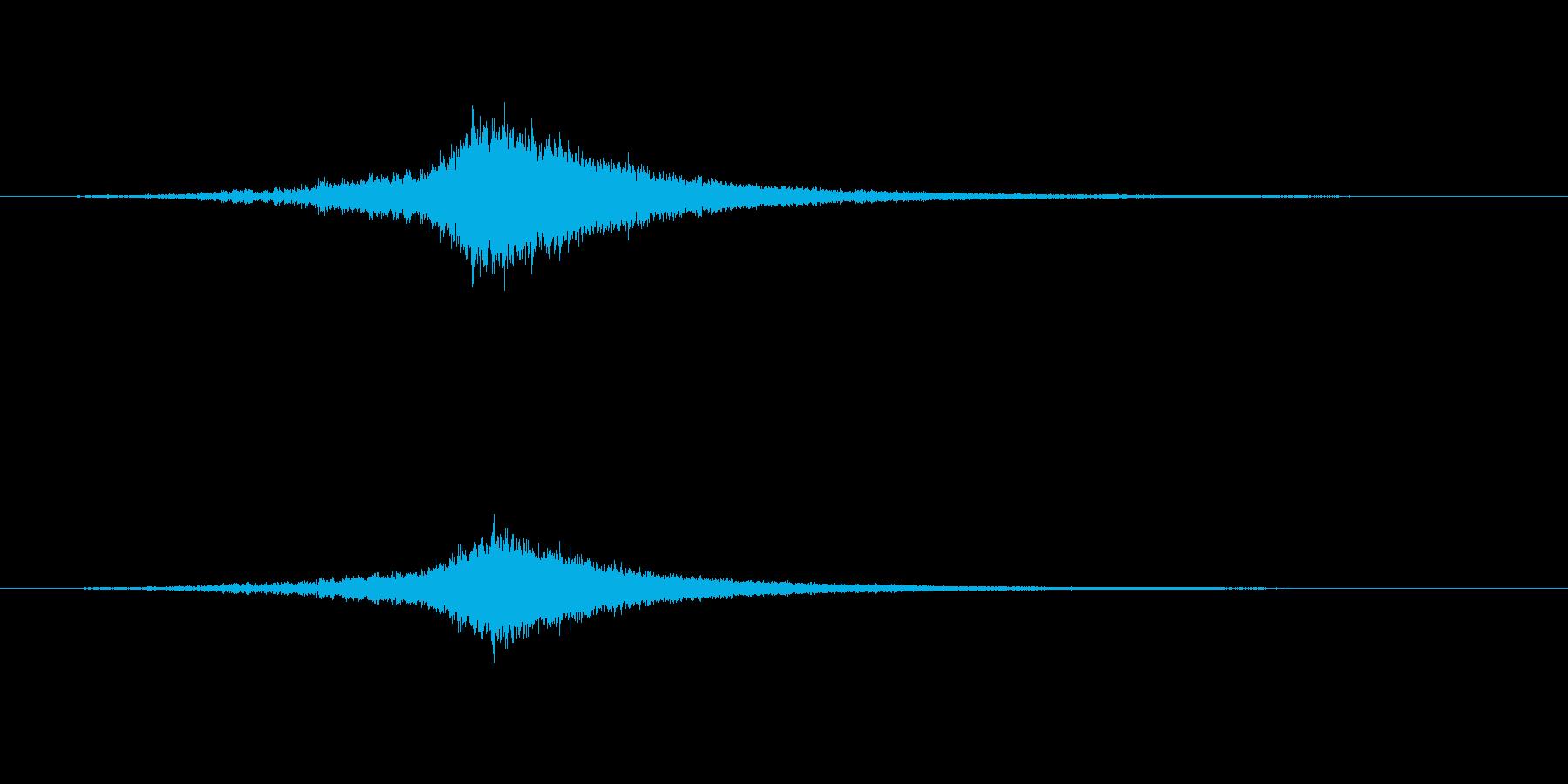 盛り上がりのサスペンドシンバルの再生済みの波形