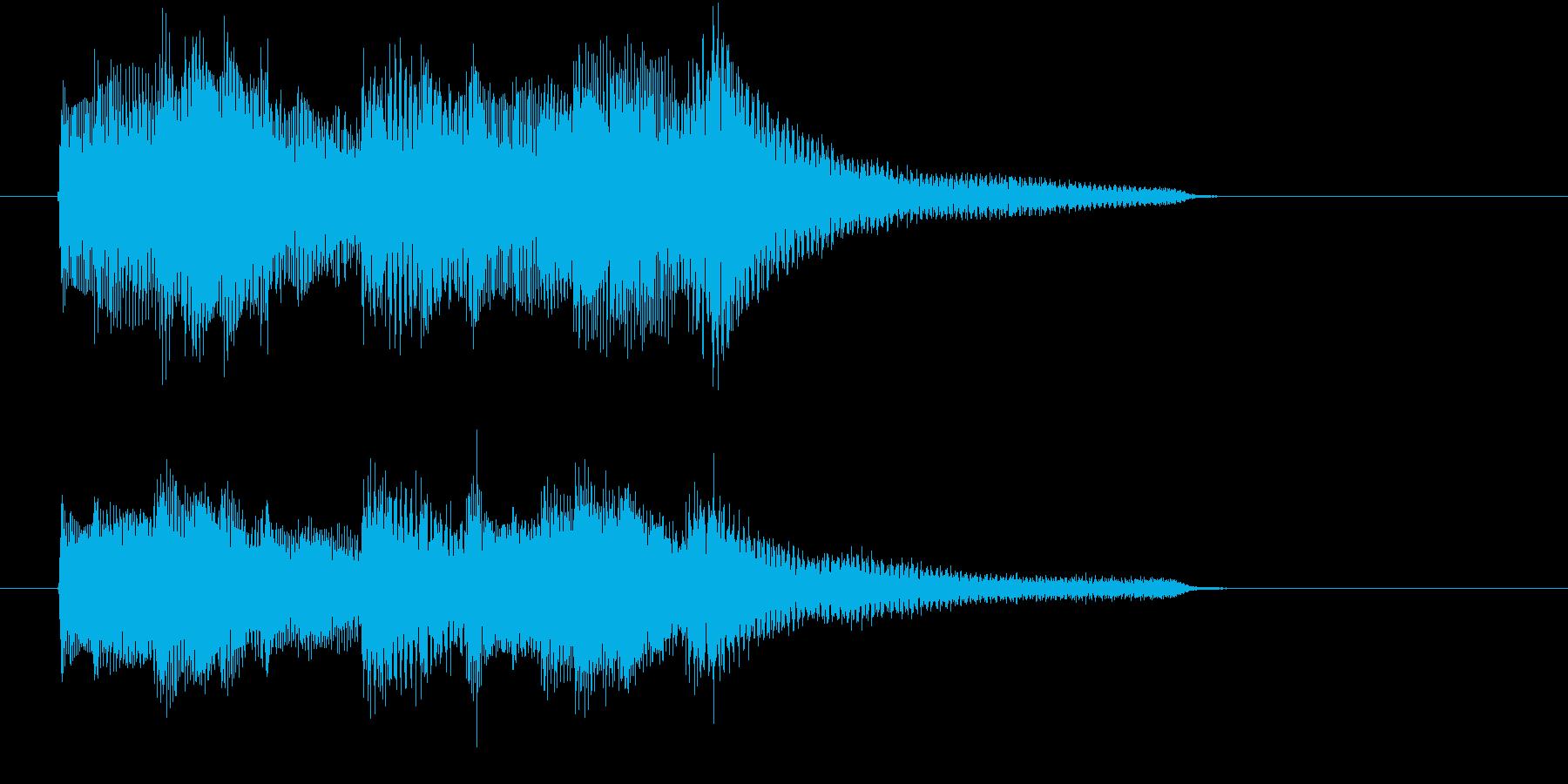 プレーンなシーンにあったジングルです。の再生済みの波形