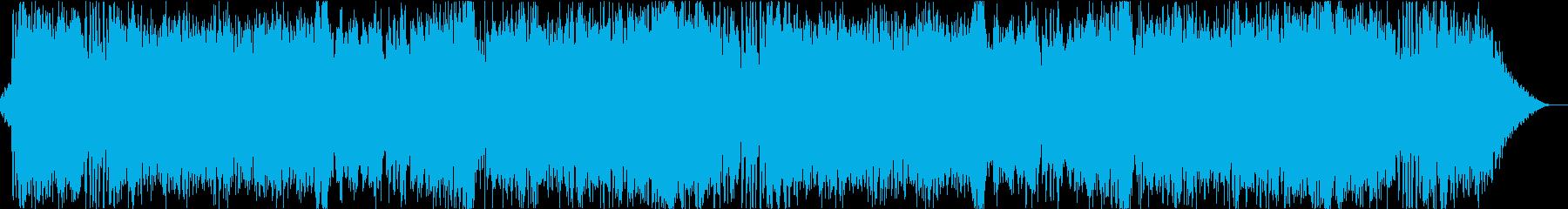 戦闘BGM向け疾走的オーケストラの再生済みの波形