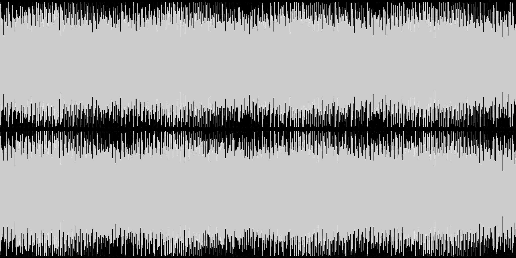 ニュースや映像、ループ可能なハウス2の未再生の波形