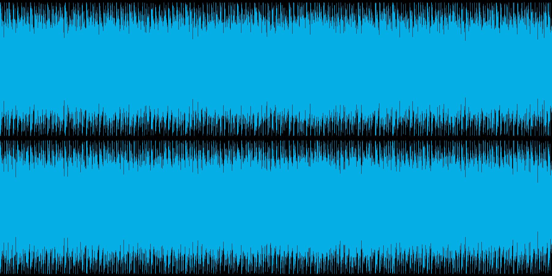 ニュースや映像、ループ可能なハウス2の再生済みの波形
